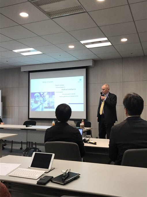 ICT Tokyo Seminar: European IT development methods and approaches to a successful collaboration on Japanese market