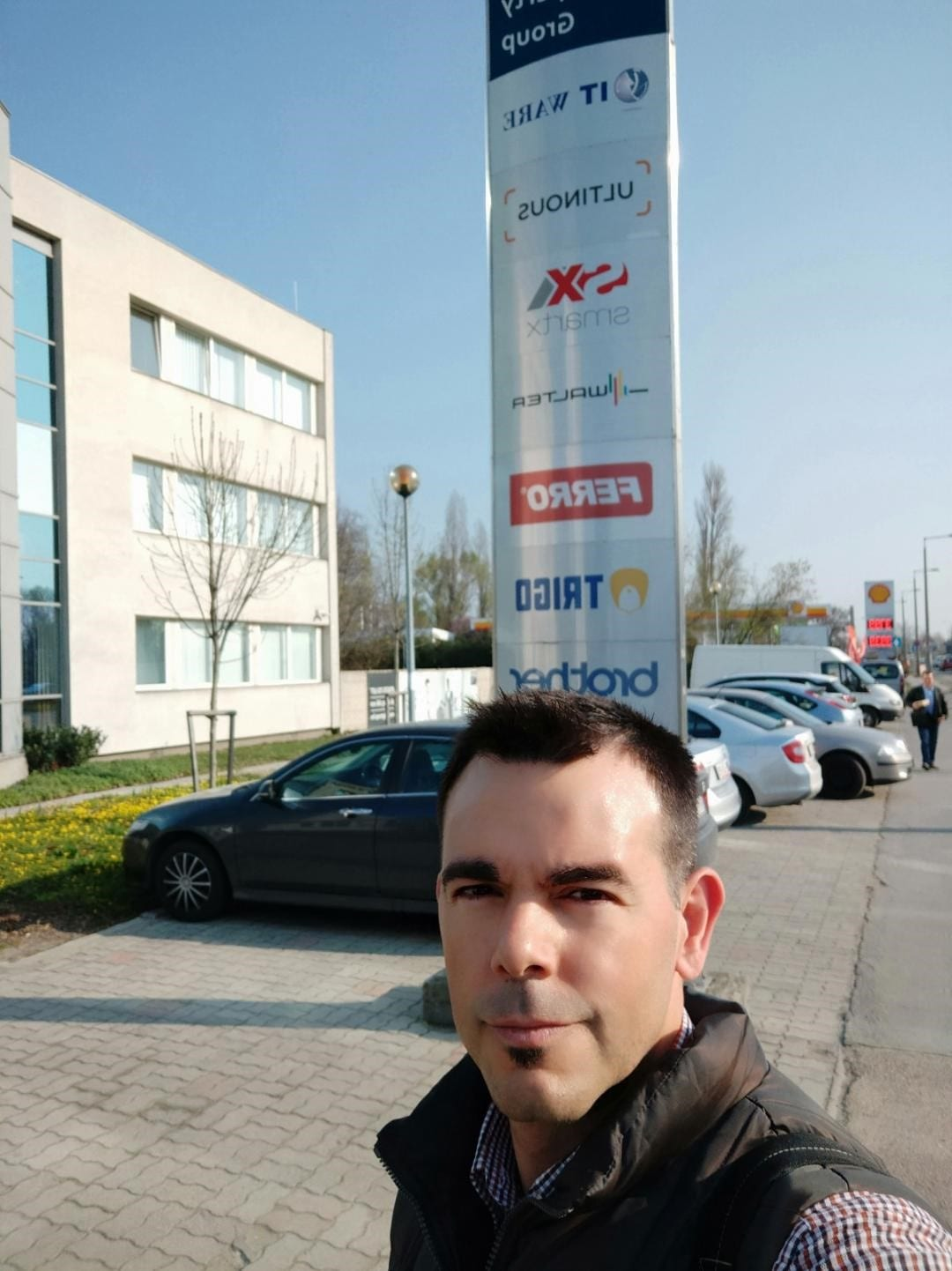 Dr Sánchez's first second month at ITware, Budapest, Hungary