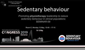 Presentation at WCPT 2019